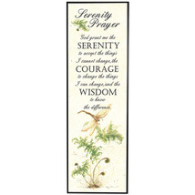 Serenity Prayer God Grant Me Courage and Wisdom... - $9.67