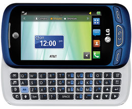 LG C410 Xpression II Cellular Phone Slider Bluetooth Camera Video for AT&T - $65.00