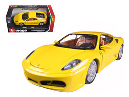 Ferrari F430 Yellow 1/24 Diecast Model Car by Bburago - $26.99