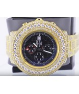 35 carats iced out custom diamond breitling men... - $21,669.12