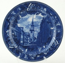 Wedgwood Old North Church Paul Revere Blue & White Commemorative Collect... - $24.99