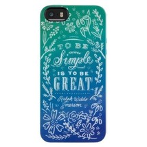 Belkin Dana Tanamachi Quote Case For iPhone 5 5S SE - $4.98