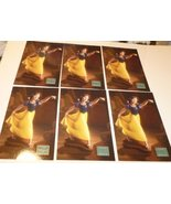 Lot of 6 WDCC Disney SNOW WHITE Fairest one of all POSTCARD Post Cards ~... - $19.99