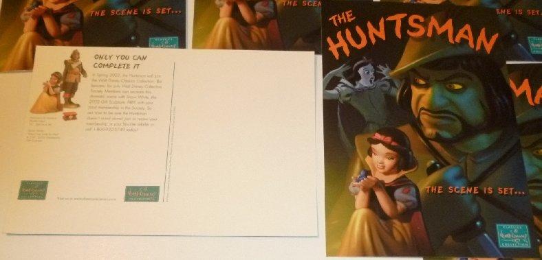 "Lot of 6 CWDC Disney SNOW WHITE The Huntsman POSTCARD Post Cards 5.5""x8"""