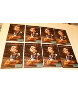"""Lot of 8 CWDC Disney DONALD DUCK Admiral Duck POSTCARD Post Cards 4""""x6"""" - $19.99"""