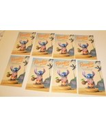 Lot of 8 CWDC Disney Lilo's STITCH Paradise on Earth POSTCARD Post Cards... - $19.99