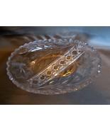 "American Brilliant Oval  8 "" L Candy Dish~ Exquisite Sparkle - $19.99"