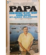 """""""PAPA HEMINGWAY IN KEY WEST 1928-1940"""", BY James McLendon, softcover boo... - $3.95"""
