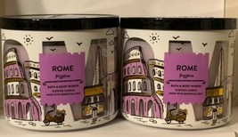 Bath and Body Works ROME PIZZERIA Basil Tomato Sauce Dough 3 Wick Candle... - $39.55