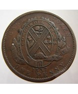 1837 ANTIQUE CANADA COIN over 170 Years Old Can... - ₨653.22 INR