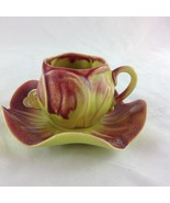 Kipp Ceramics 1947 Vintage Demitasse Cup & Saucer Collectible Excellent - $19.00