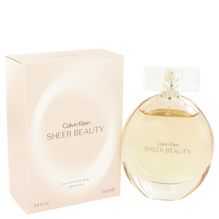 Sheer Beauty by Calvin Klein Eau De Toilette Spray 3.4 oz