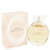 Sheer Beauty by Calvin Klein Eau De Toilette Spray 3.4 oz - $38.95