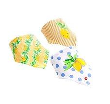 Baby's Gift Lovley 3Pcs Adjustable Soft Baby Neckerchief/Saliva Towel