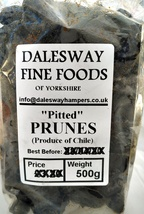 Whole Prunes ''Pitted'' 500g Pack - $3.94