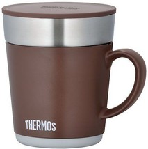 THERMOS Warm Mug 240ml Brown FROM JAPAN - $26.44