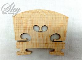 Violin Bridge 1/10 Size Maple Wood Brand New,Su... - $3.49