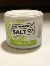 New San Francisco Salt Co. Salt Chili Lime Sea Salt 4oz. - $7.77