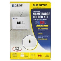 C-Line® Name Badge Kits - $72.71