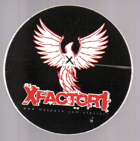 XFactor1 Sticker