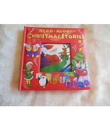 Read-Along Christmas Stories with CD Padded Hardcover 2005 - $9.90