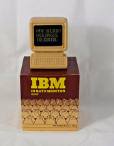 Vintage IBM Terminal PC Monitor Bath Soap in Box - $29.02