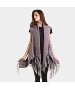 Boho Aztec pattern vest tunic poncho  - ₹3,509.54 INR