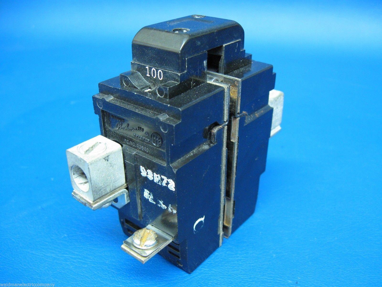 Used Pushmatic 100 AMP MAIN Bulldog Two Pole Double