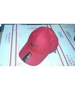 Nike Legacy 91 Golf Hat Cap RED GRAY SWOOSH LOGO One Size - £14.50 GBP