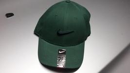 Nike Legacy 91 Golf Hat Cap GREEN NAVY BLUE SWOOSH LOGO One Size - £14.46 GBP