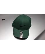 Nike Legacy 91 Golf Hat Cap GREEN NAVY BLUE SWOOSH LOGO One Size - £16.05 GBP