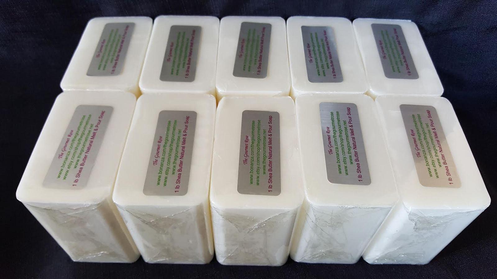 10 lb shea butter natural melt pour soap