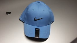 Nike Legacy 91 Golf Hat Cap LIGHT BLUE GRAY SWOOSH LOGO One Size - $15.00