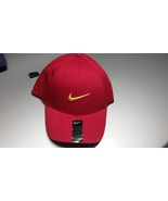 Nike Legacy 91 Golf Hat Cap RED YELLOW SWOOSH LOGO One Size - £16.05 GBP