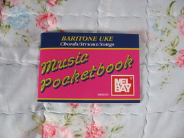 Baritone Ukulele Pocketbook by Mel Bay/NOS/OOP!  - $1.29