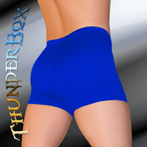 ThunderBox Nylon Spandex Mens Womens Royal Blue Gladiator Shorts Casual S M L XL - $20.00