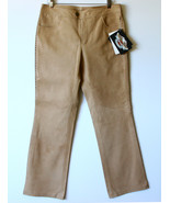 Harley-Davidson Tan Leather Pants Wanderlust Wo... - $189.00