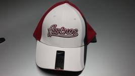 Nike Unisex Hat Cap Houston Astrons White Red Baseball One Size - £14.46 GBP