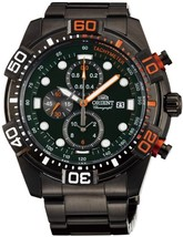ORIENT chronograph STT16001F Men's Quartz watches made in Japan - $310.40