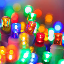 100 count 5 mm LED Christmas Light String Multi Color - $22.72