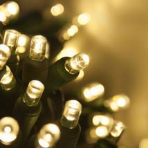 100 count 5 mm LED Christmas Light String Warm White - $22.72