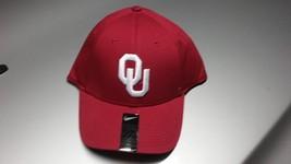 Nike Unisex Hat Cap Oklahoma Sooners White Logo Football One Size - £15.43 GBP