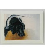 Black Labrador Dog Art Note Cards Solomon - $12.50