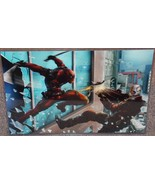 Deadpool vs Suicide Squad Deadshot Glossy Art P... - $24.99
