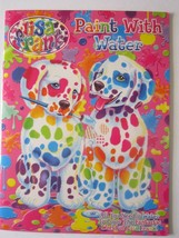 Lisa Frank Paint With Water Book Tear Out Pages,Puzzles,Picture Frame New! - $7.91