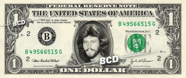 BARRY GIBB Bee Gees on REAL Dollar Bill Cash Money Bank Note Currency Di... - $5.55