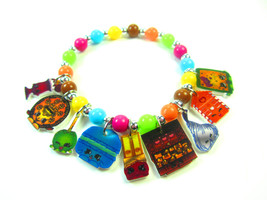 Shopkins Charm Bracelet, Shopking Jewelry, Shop... - $7.50