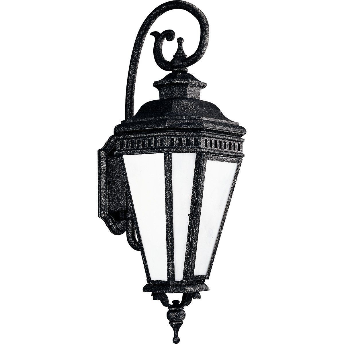 Outdoor Georgian Collection Wall Lantern Hand Crafted Art Panels P5676-71