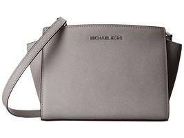 MICHAEL KORS Selma Meidum Saffiano Leather Cros... - $155.00 - $165.00