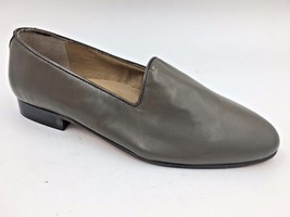 Giorgio Brutini Taupe Brown Leather Crawley Slip On Loafers size 11EEE 2... - $36.94 CAD